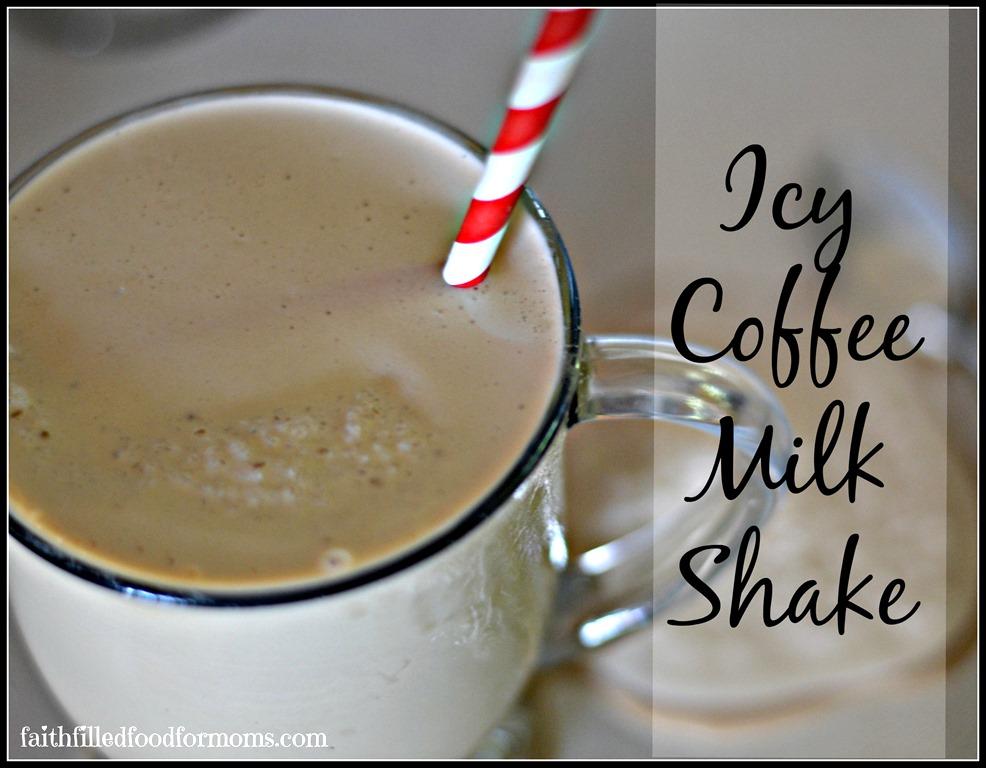 Icy Coffee Milkshake