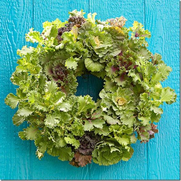 Kale Wreath