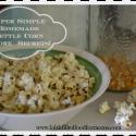 Easy Homemade Kettle Corn Recipe