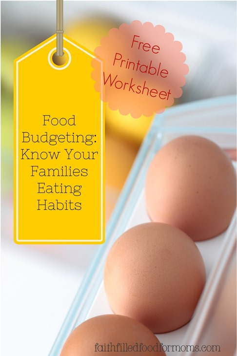 Know your families eating habits
