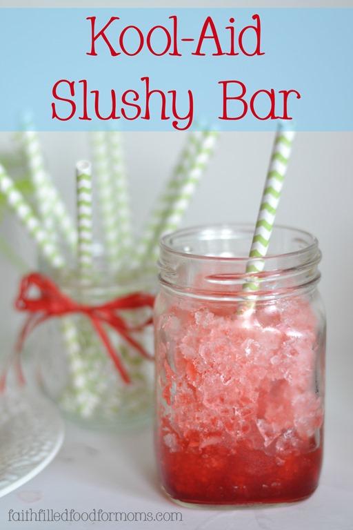Kool Aid Slushy Bar