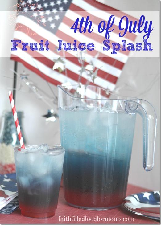 #KoolOff 4th of July Fruit Juice Splash