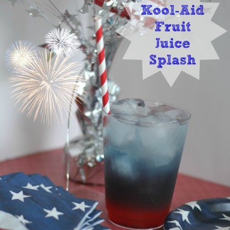 4th of July Recipes with Kool-Aid Fruit Juice Drink