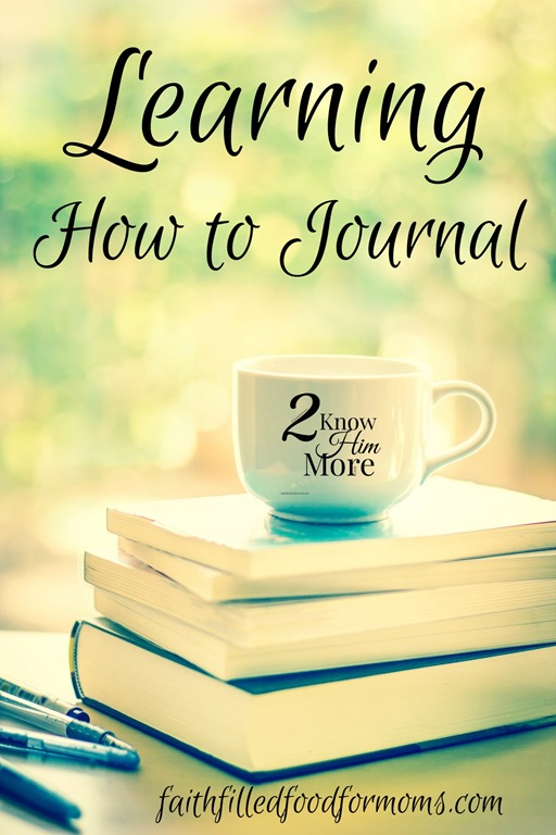 Journal Learning Journey: To Know Him More