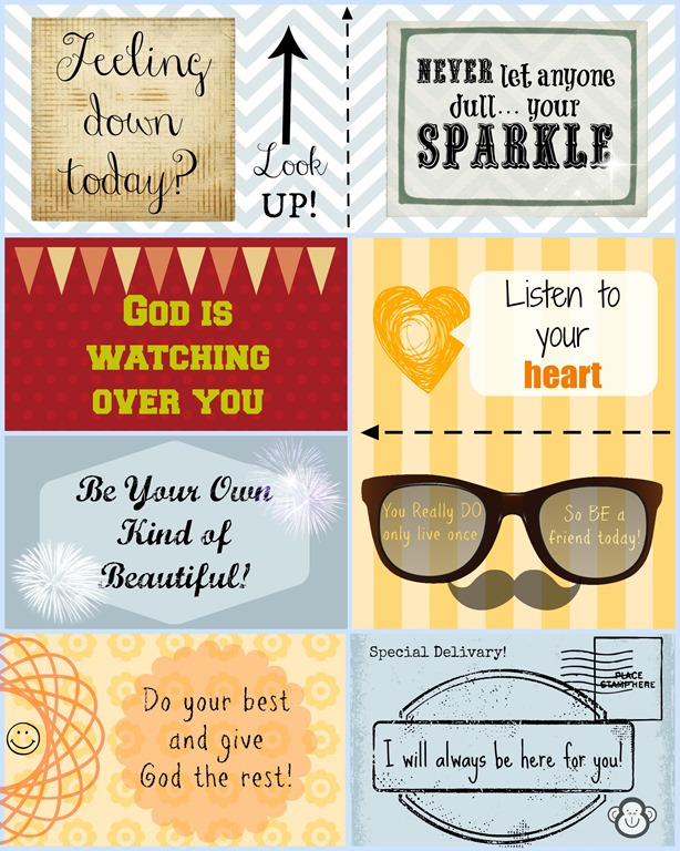 More LunchBox Love Notes – Free Printable