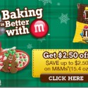 #BakingIdeas with M&M's® Chocolate Candies and a HUGE Coupon Just 4 You!
