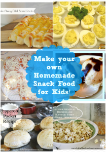Make your own Homemade Snack Food for Kids!