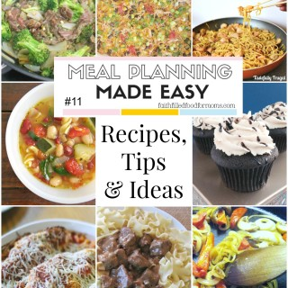 Meal Planning Made Easy #11