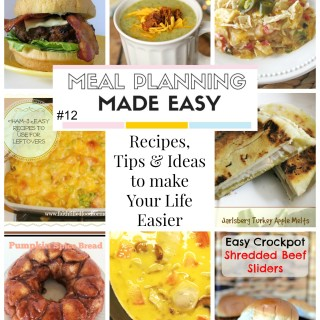 Meal Planning Made Easy #12