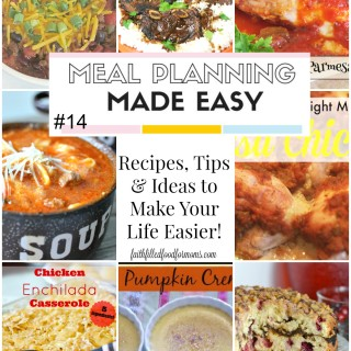 Meal Planning Made Easy #14