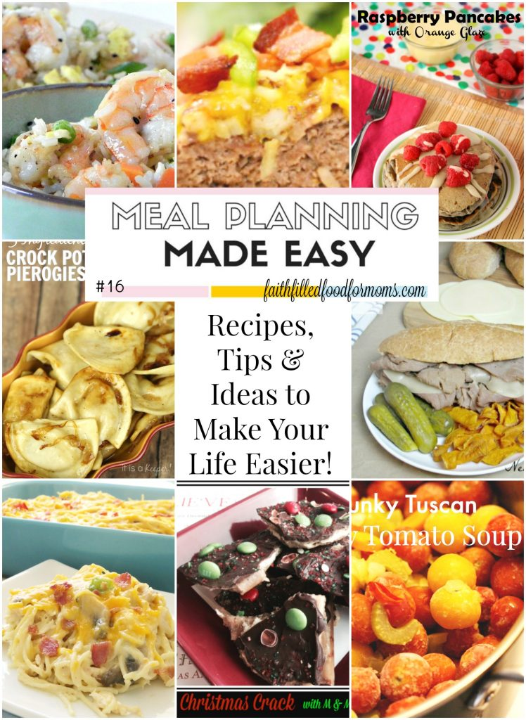 Meal Planning Made Easy #16