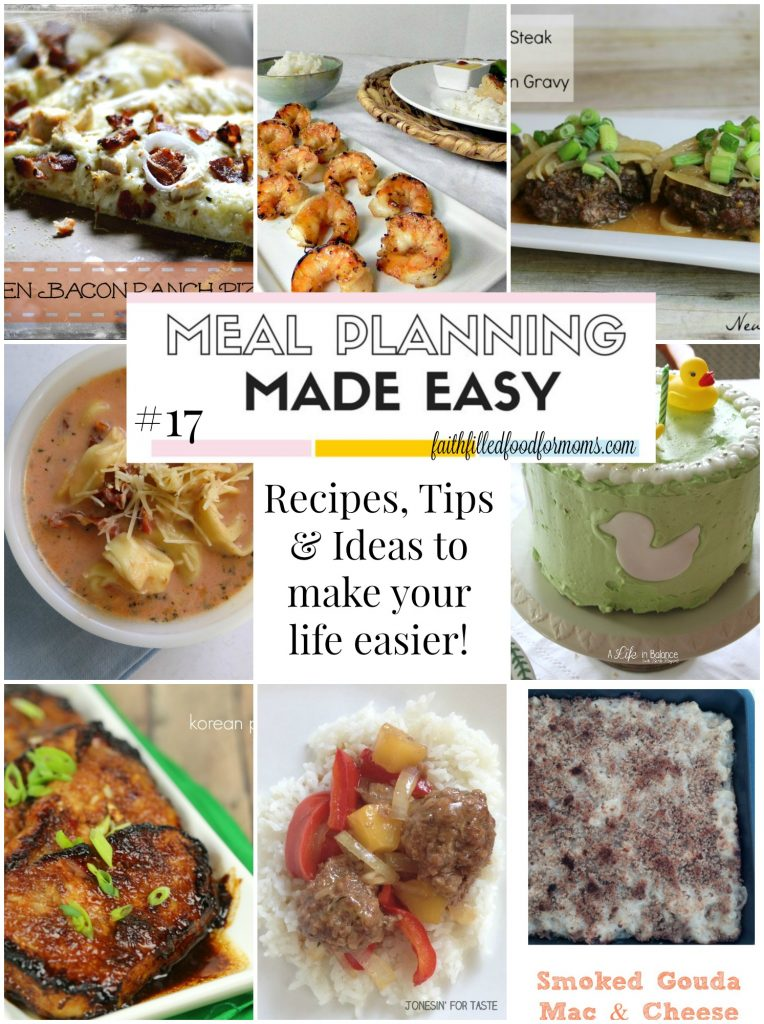 Meal Planning Made Easy #17