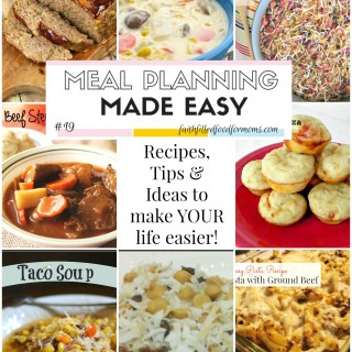 Meal Planning Made Easy #19