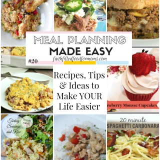 Meal Planning Made Easy #20