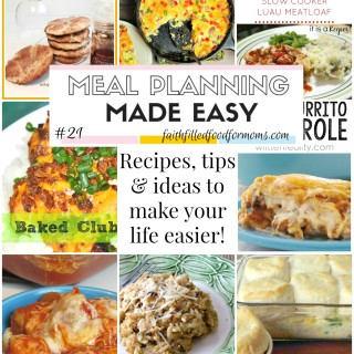 Meal Planning Made Easy #21