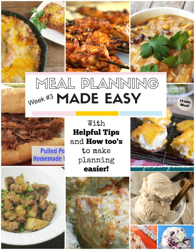 Meal Planning Made Easy #3