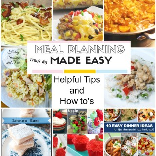 Meal Planning Made Easy #6