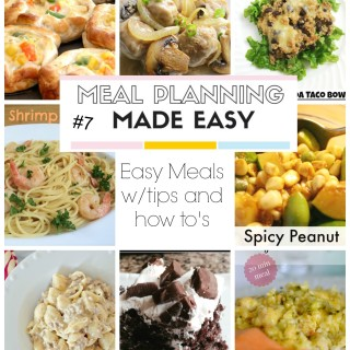 Meal Planning Made Easy #7