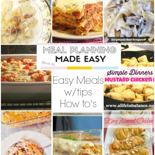 Meal Planning Made Easy #8