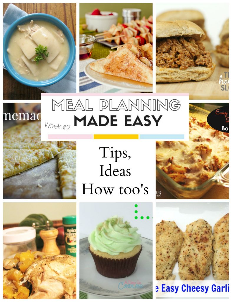 Meal Planning Made Easy #9