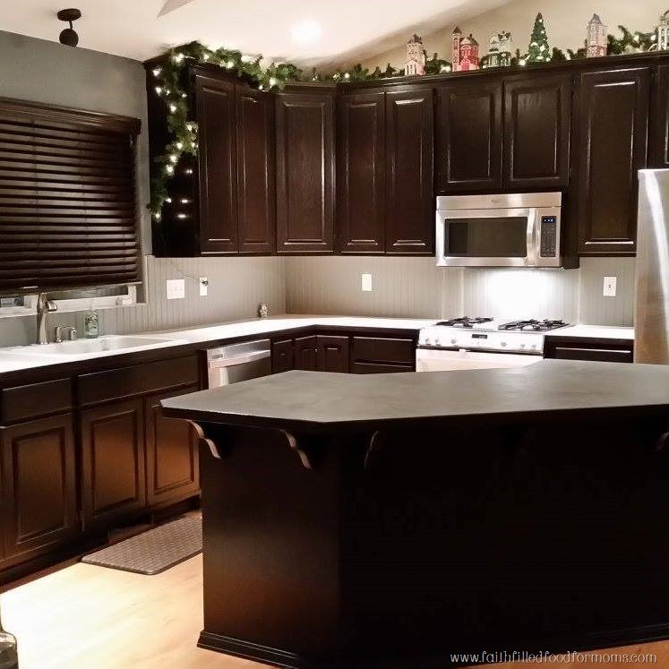 Update Old Kitchen Cabinets: Quick Easy Kitchen Updates Simple Creative Ideas • Faith