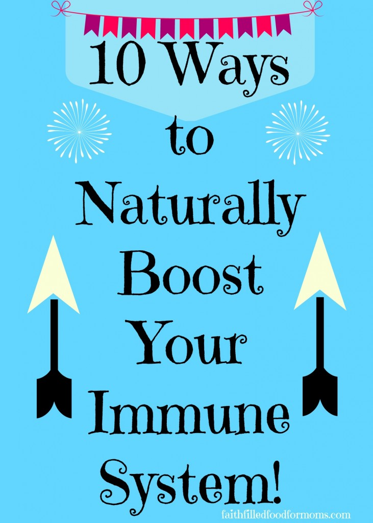 how to develop immune system naturally