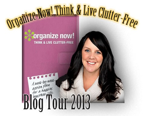 Organize Now Blog Tour Badge