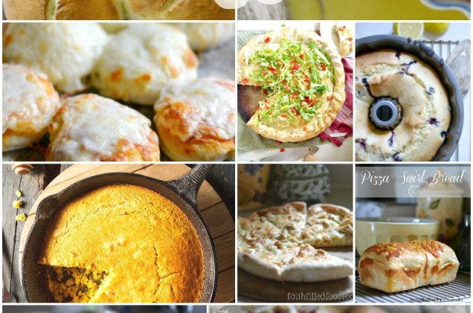 Over 20 Homemade Bread Recipes Anyone Can Make! From savory to sweet these bread recipe ideas are deelish!