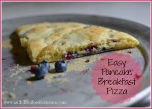 Easy Pancake Breakfast Pizza