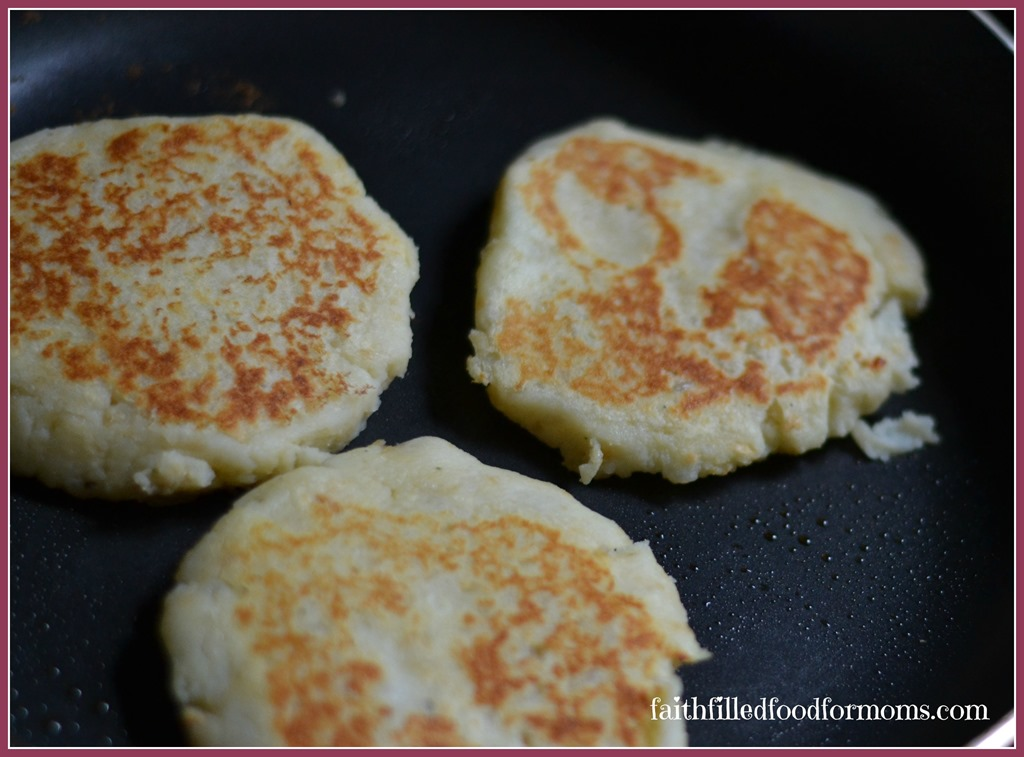 Easy Potato Pancakes with Leftover Mashed Potatoes