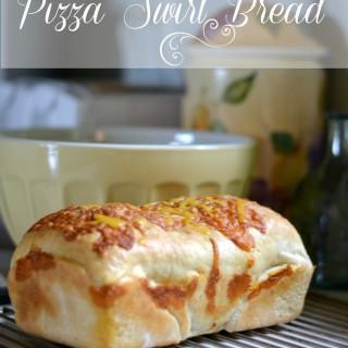 A delicious homemade Pizza Swirl bread!
