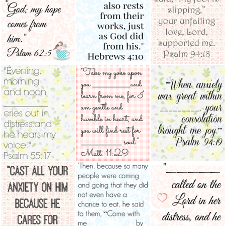 10 Vital Steps to Keep You From Drowning with Printable Bible Verses