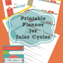 Save hundreds of dollars a year by buying the yearly sales cycles in stores! Free printable with all you need for planning aheard throughout the year!