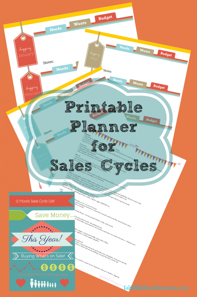 Printable Planner 4 Sales Cycles