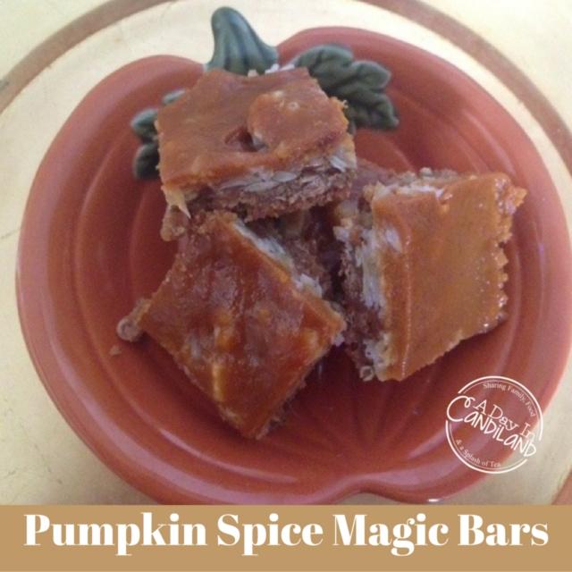 Pumpkin-Spice-Magic-Bars-on-Pumpkin-Plate