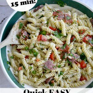 Quick Easy Italian Pasta Salad