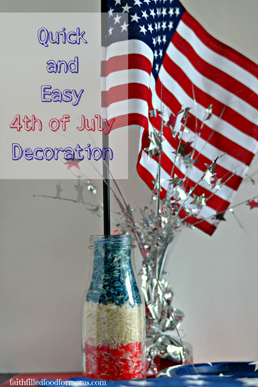 Easy homemade 4th of july crafts and ideas for Decoration 4 july