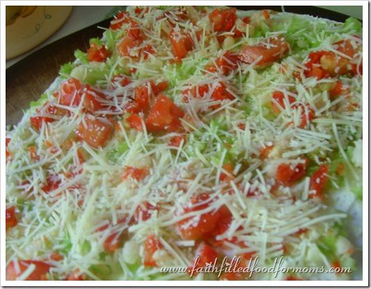 Yummy Cool Veggie Pizza