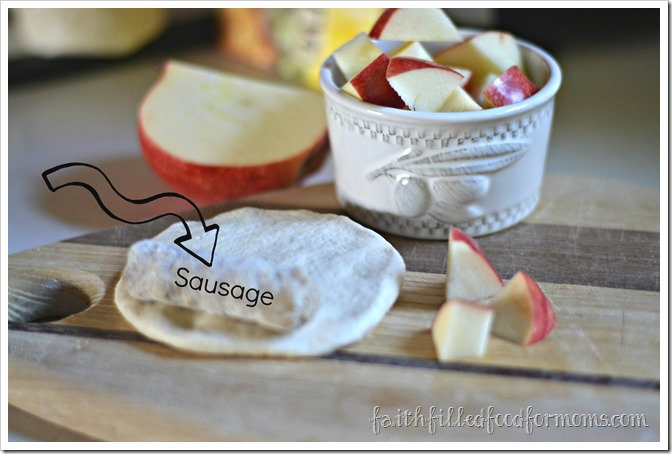 Sausage and Biscuits on a Stick