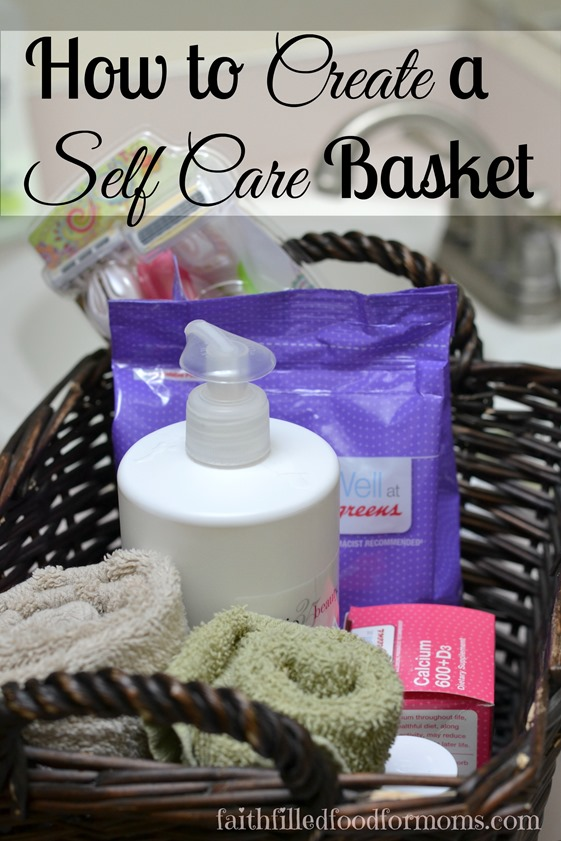 Self Care Basket for Women's Health