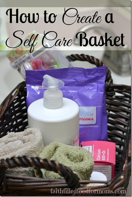 Self Care Basket for Women's Health #herhealth #shop