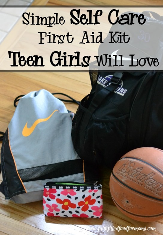 Simple Self Care First Aid Kit Teen Girls Will Love 1