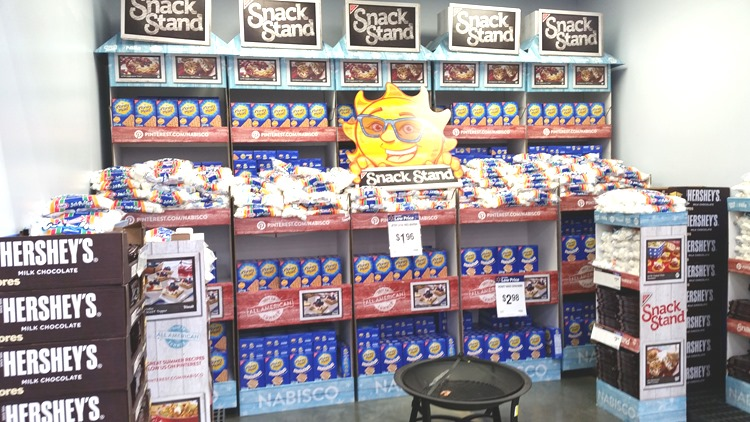 S'mores display
