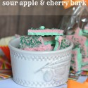 Sour Apple and Cherry Bark with Kool-Aid Juice Drink