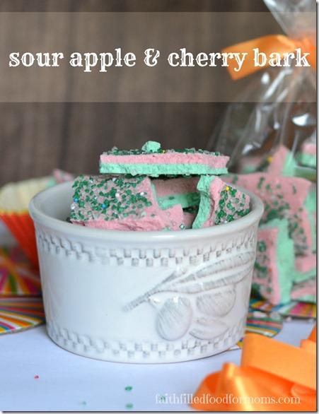 Sour Apple Candy Bark #KoolOff #shop