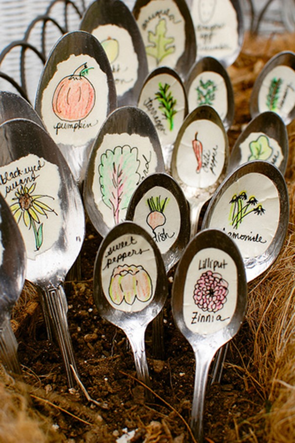 Spoon markers
