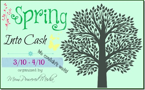 spring into cash sweepstakes!