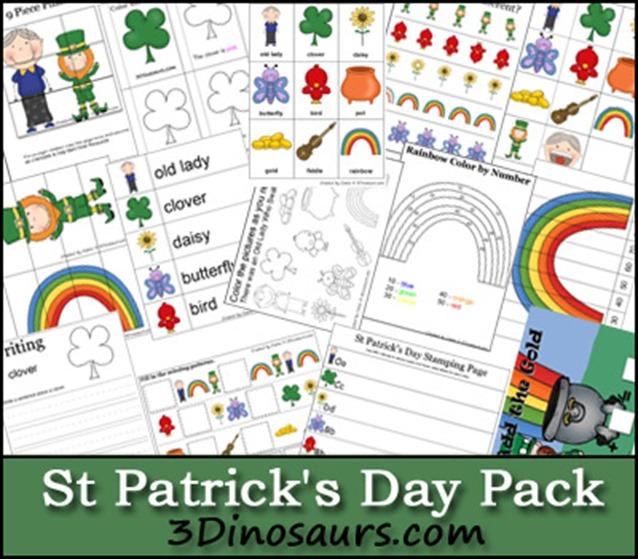 St. Patricks day printable pack