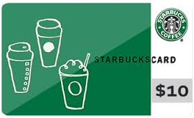 Survey and $10 Starbucks Gift Card Giveaway!