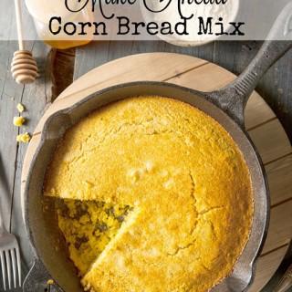 Sugar and Gluten Free Make Ahead Corn Bread Mix